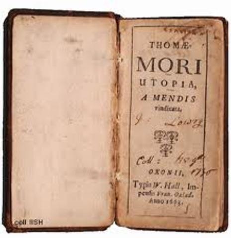 """""""Utopia"""" prose written by Thomas More"""
