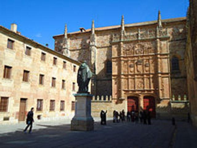 Se funda la universidad de Salamanca