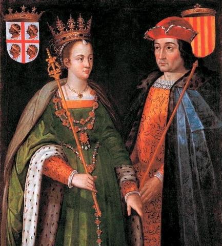 Se casan Isabel I de Castilla y Fernando II de Aragón