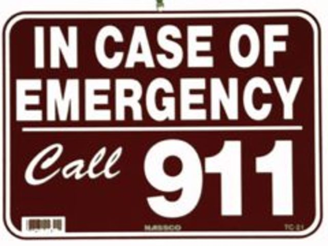 Emergency 911 System in place