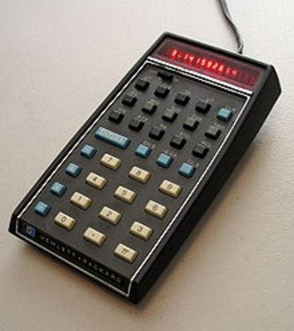 The HP - 35 calculator