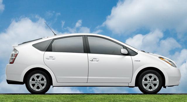 The first hybrid car
