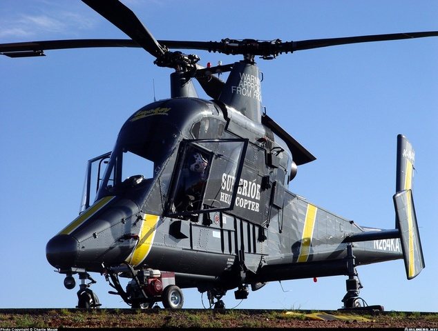 K-MAX helicopter testing