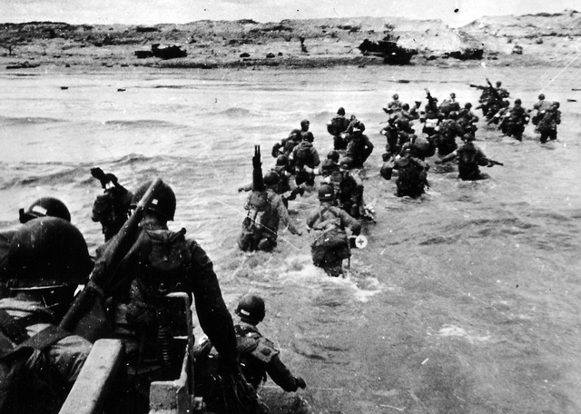 D-Day invasion of France at Normandy by Allies