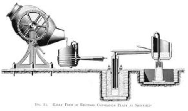 Bessemer process developed