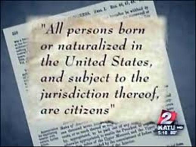 14th Amendment passed