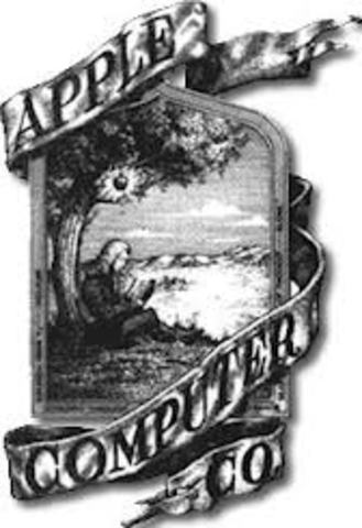 Primer Logo de Apple en 1975