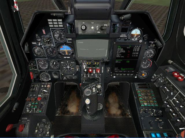 First electromechanical flight simulator