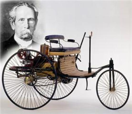 1st Car with Internal Combustion Engine