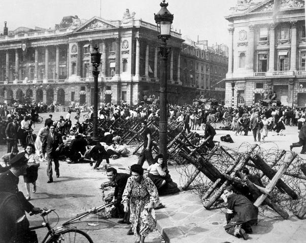 Paris retaken by Allied Forces