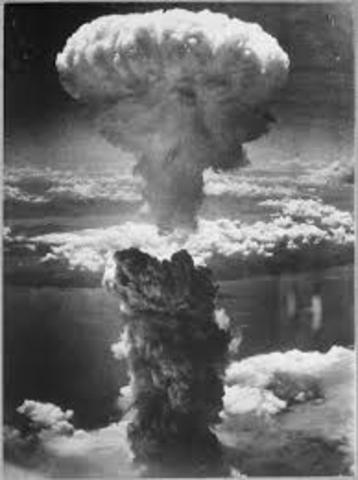 First Atomic Bombs dropped