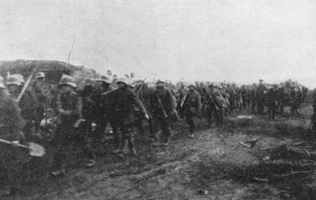 Germany started an offensive in Flanders