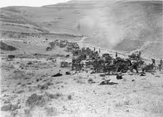 Turkish forces collapsed at Megiddo