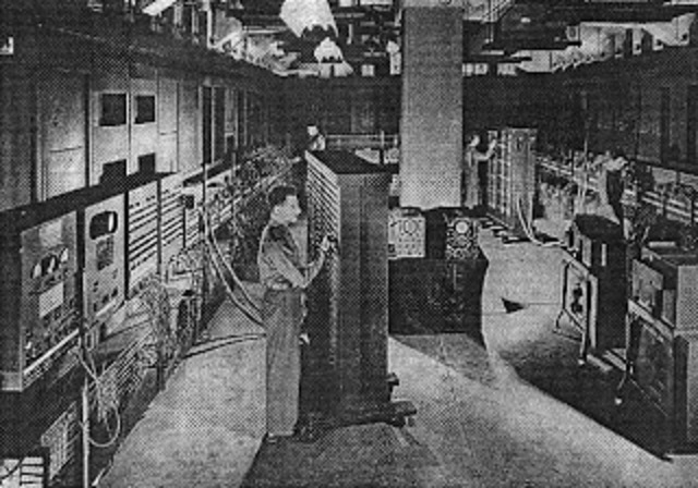 ENIAC (Electronic Numerical Integrator And Computer).