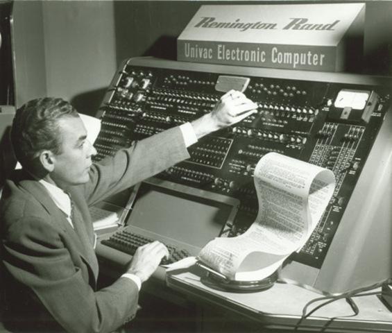 La UNIVAC I (UNIVersAl Computer)