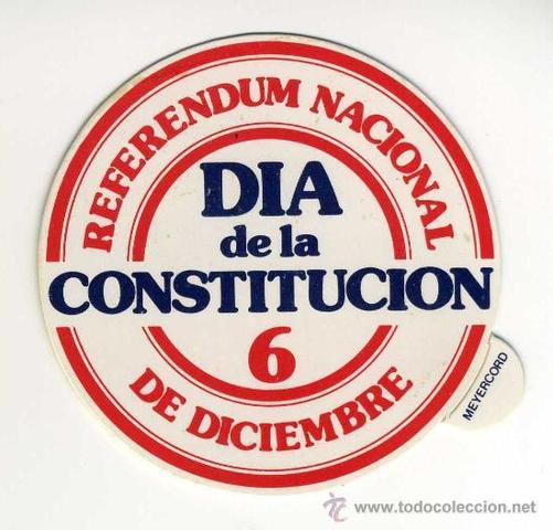 Referéndum Constitución