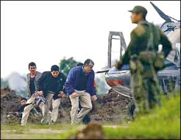 Autoridades recuperan control de granja Pavón