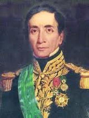 Andres de Santa Cruz presidente del Peru