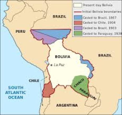 Territorio del alto Perú