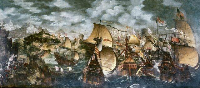 Inglaterra derrota a la Armada Invencible española