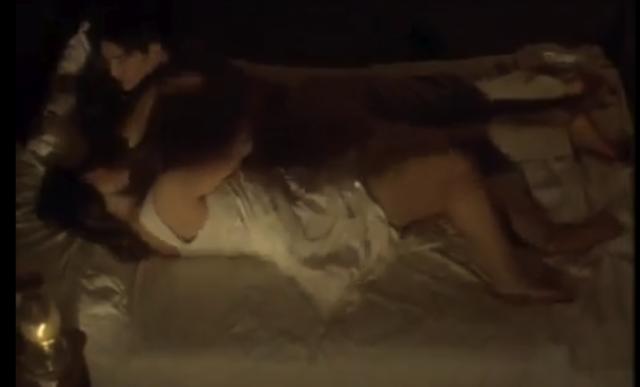 Pedro y Rosaura empienzan una relación sexual