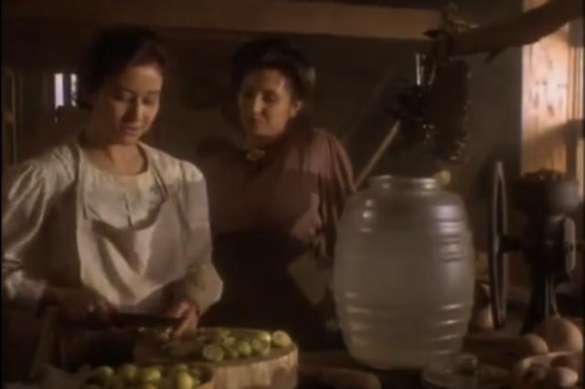 Rosaura cocina la comida