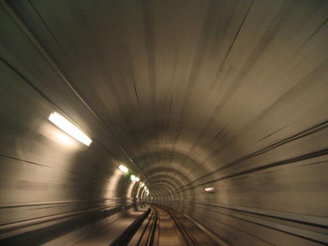Tunel submarino que une a Francia y el reino Unido