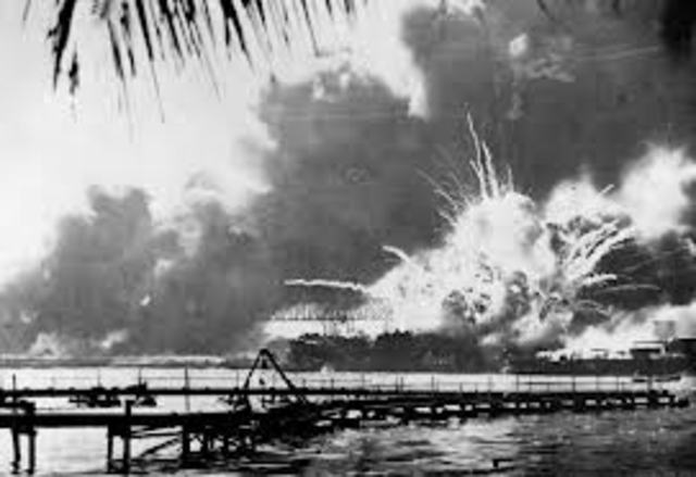 Japan launched Suprise attack on Pearl Harbor