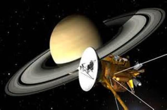 Cassini Spacecraft Lauched