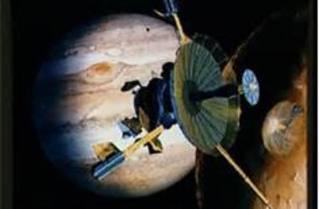 Galileo Probe Launched