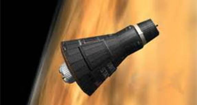 Mercury Probe lauched