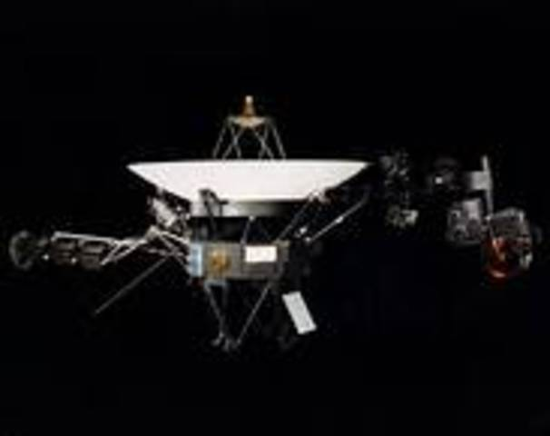 Voyager 2 Launched