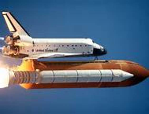 First Space Shuttle Used