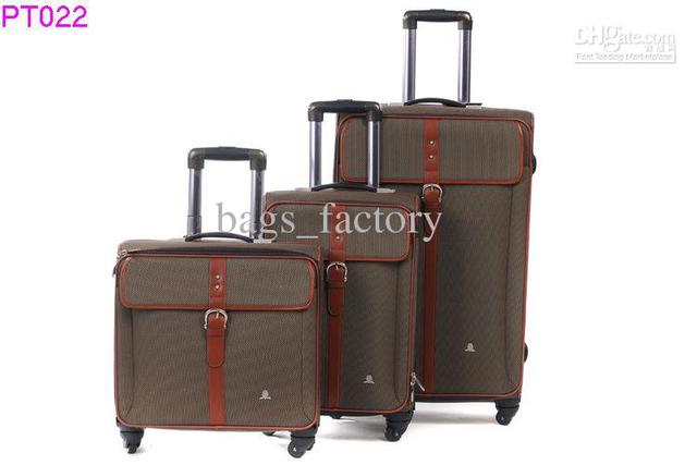 Tilt-and-Roll Luggage