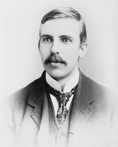 Rutherford was born.