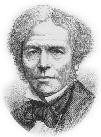 Faraday was born.