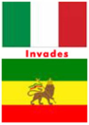 Italian Army invades Ethiopia in Africa