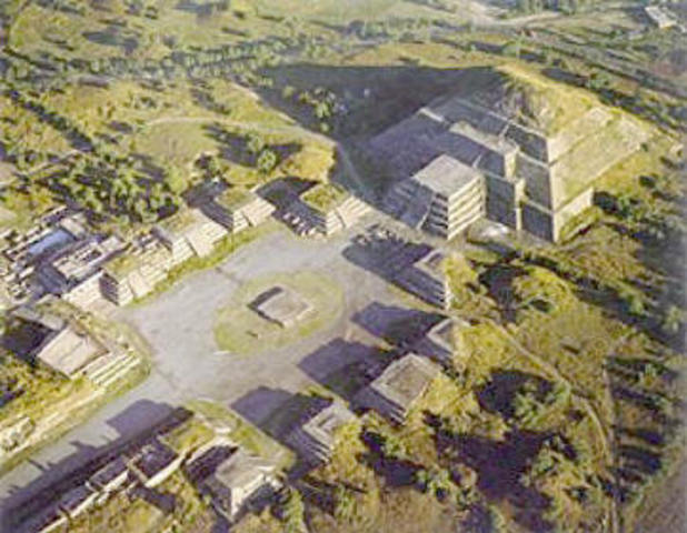 The Disappearance of the Teotihuacan Culture