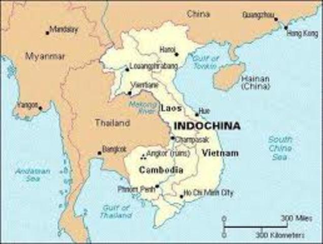 Japenese invade French Indochina