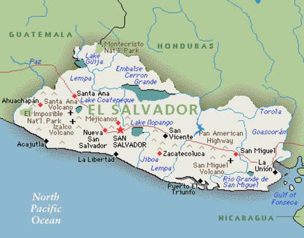 Independencia de El Salvador