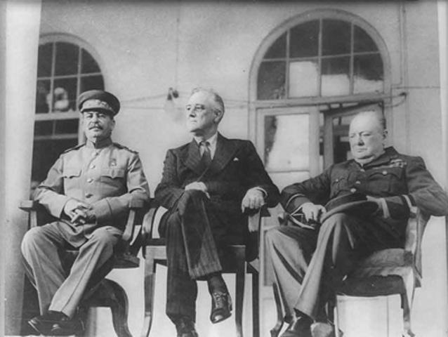 Three majors meet in Tehran