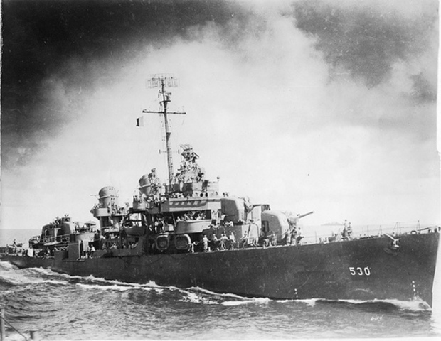 Chapter 17 Section 4 USA sends destroyers