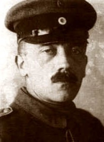 He serves in World War I