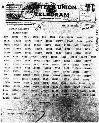 Telegrama Zimmerman