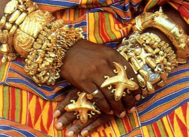Ghana is rich from gold