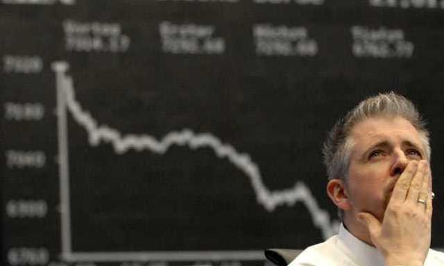 Caída generalizada de las bolsas y subida de los tipos de interés.