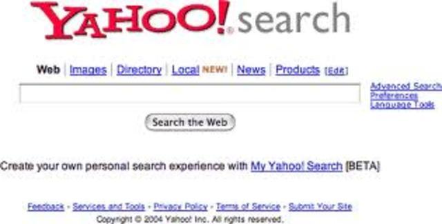 Yahoo! Search adiós Life Search