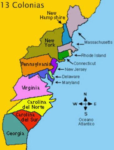 Emacipacion de las Trece colonias