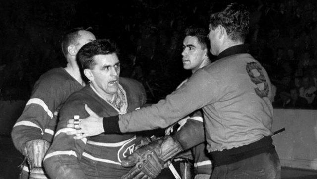 Suspension of Maurice Richard