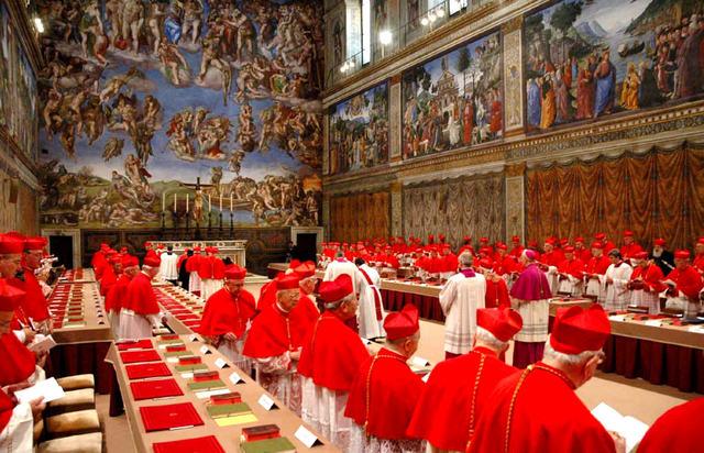 1st Papal Conclave